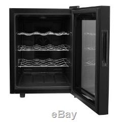 12 Bottle Wine Cooler Fridge Chiller Refrigerator Thermoelectric Freestanding