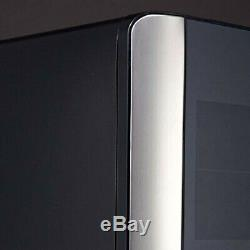 12 Bottles Wine fridge Black Touchscreen Wine Cooler Refrigerator Countertop New