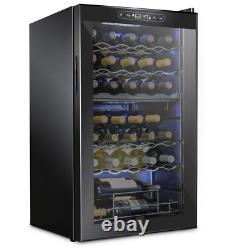 19.4 In. 33 Bottle Dual Zone Compressor Freestanding Wine And Beverage Cooler