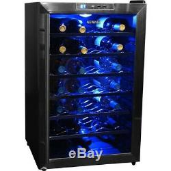 28 Bottle Wine Cooler Fridge Chiller Refrigerator Thermoelectric Freestanding