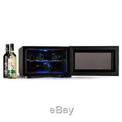 8 Bottle Compact Wine Cooler Kitchen Or Business Drink Refrigerator 25 Litre