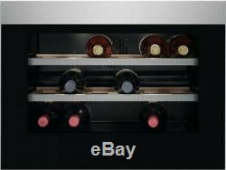 AEG KWK884520M Compact 18 Bottle Built In Wine Cooler Stainless Steel FA9193