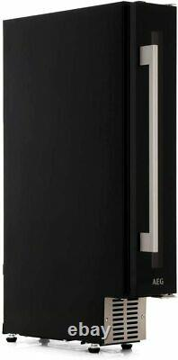 AEG SWE61501DG 15cm Black Wine Cooler 7 Bottle Capacity Wine Cabinet Black