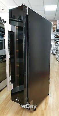 AEG SWE61501DG 15cm Integrated Under Counter Wine Cooler 7 Bottle Capacity