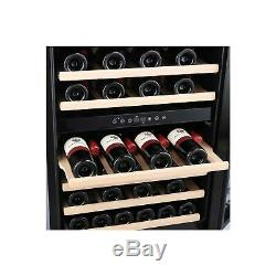 Amica AWC600SS 46 Bottle 60cm Freestanding Wine Cooler Stainless Stee AWC600SS
