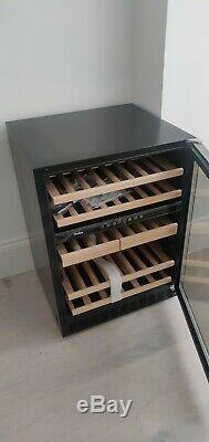 Amica AWC600SS 46 Bottle 60cm Wine Cooler Freestanding / Integrated NEW