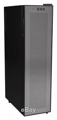 Amstyle Wine Beer 18 Bottle Refrigerator 53l Mini Bar Cooler Fridge New (eec A)