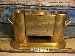 Antique Wine Cooler Ice Bucket Chateau Cos D Estournel, Grand Cru holds 2 Bottle