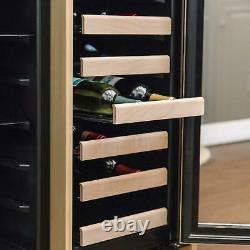 Azure 15-Inch 30 Bottle Wine Cooler Custom Panel Ready