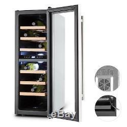 B-Stock Mini fridge wine cooler mini bar Refrigerator 65 L 21 bottles Home co