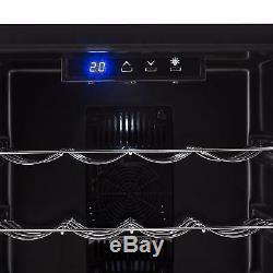 B-Stock Mini fridge wine cooler refrigerator 48 litre beer 16 Bottles bevera