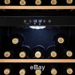 B-Stock Wine Cooler Fridge Refrigerator 54 Bottles Beer Cooling Drinks 148 L L