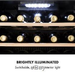 B-Stock Wine Cooler Fridge Refrigerator Drinkss chiller 29 Bottle Energy A Bar