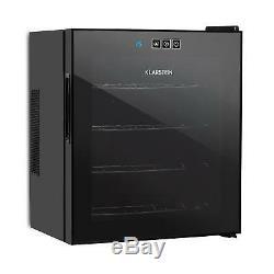 B-Stock Wine Cooler Refrigerator Fridge Mini Bar14l 4 Bottles Touch Glass Ener