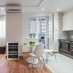 B-Stock Wine Cooler refrigerator fridge 41 bottles 34 litre mini bar beverage