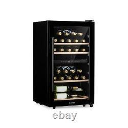 B-Stock Wine Fridge cooler Refrigerator Drinks 34 Bottles 100W Energy A LED To
