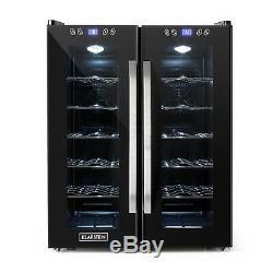 B-Stock Wine cooler Fridge Big Refrigerator Buit-in 24 Bottles Touch 2 Glass D