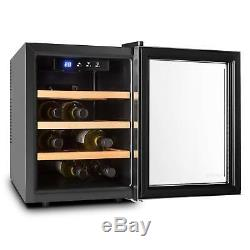 B-Stock Wine cooler Fridge Refrigerator 33 Litre 9 Bottles Mini Bar Home Shop