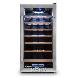 B-Stock Wine cooler Refrigerator fridge 88 lit 26 Bottles beer insulated stora