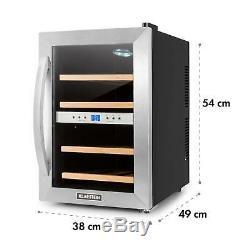 B-Stock Wine cooler fridge refrigerator Beer mini bar 12 bottles counter top