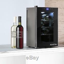 B-Stock Wine cooler fridge refrigerator Mini Bar Beer Drinks Cooler 8 Bottles