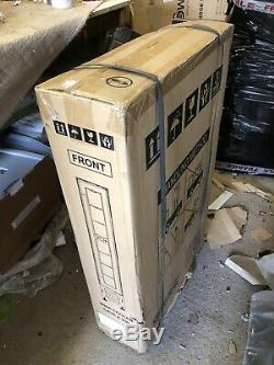 BNIB Cata WC150BK 15cm Wine Cooler in Black Glass, 7 Bottle Cabinet