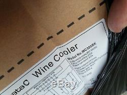 BNIB Cata WC300BK Black 18 bottles Wine cooler £275