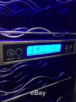 BRAND NEW Candy CCVB60 Integrated/Freestanding 15 Bottle Wine Cooler (300mm)