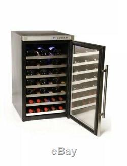 BRAND NEW Hostess HW40RMA 50cm 40 Bottle Wine Cooler Stainless Steel Frost Free