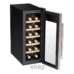 Baridi 12 Bottle Wine Cooler Fridge, Low Energy A Refurbished Grade A