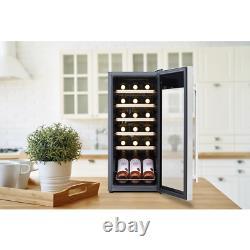 Baridi 18 Bottle Wine Cooler Fridge Refurbishment Grade A Energy A
