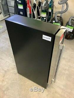 Baumatic BWC155SS/2 Wine Cooler Fits 7 Bottles Black/Stainless #RW16405