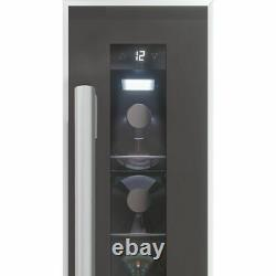 Baumatic BWC155SS/3 Built In A Wine Cooler Fits 7 Bottles Black New from AO