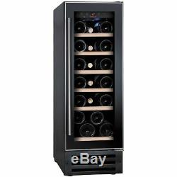 Baumatic BWC305SS/2 Built In B Wine Cooler Fits 19 Bottles Black / Stainless