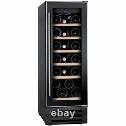Baumatic BWC305SS 30cm 19 bottle wine cooler in Black