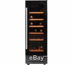 Belling 300BLKWC 30cm 18 Bottle Wine Cooler in Black FA9289