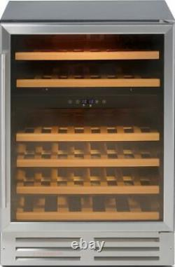 Belling 600SSWC Unbranded Built In C Wine Cooler Fits 46 Bottles Stainless
