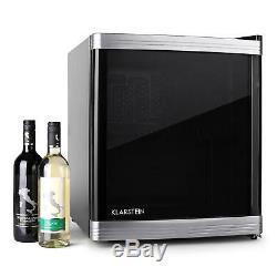 Black Beer Bottle Wine Cooler Fridge Hotel Restaurant Counter Top 46 L Chiller