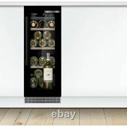 Bosch KUW20VHF0G Built In F Wine Cooler Fits 21 Bottles Black New from AO