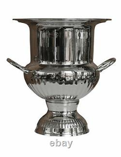 Bottle cooler wine and champagne ice bucket chiller antique style 26cm