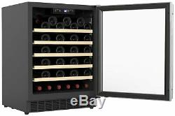 Bush WD52 52 Bottle Under Counter Wine Cooler S/Steel