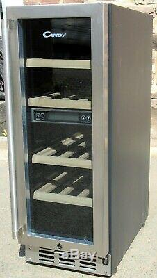 CANDY CCVB60 built in Wine Cooler 15 Bottles 12M warranty