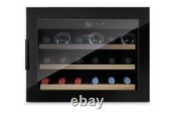 CASO EB18 Medium-Sized Wine Cooler up to 18 Bottles Wine Fridge Wine Built In