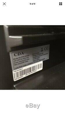 CDA 300mm 18 Bottle Wine Fridge Cooler Drinks Chiller Stainless Steel FWC303SS