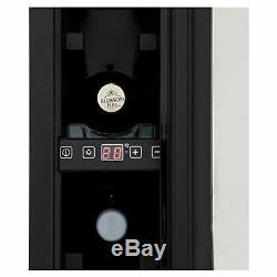 CDA FWC153SS 150mm Freestanding Wine Cooler with 7 Bottle Capacity in Steel