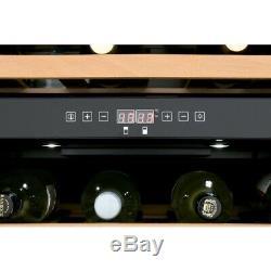 CDA FWC604SS 60cm Wine Cooler in Stainless Steel, Dual Zone, 46 Bottles, 1 Door