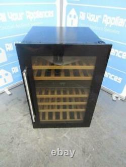 CDA FWV902BL 55 Bottle Integrated Wine / Bottle Cooler in Black FA9937