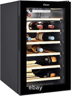 Candy CWC 021ELSPK Freestanding Wine Cooler, Single Zone Temperature, 21 Bottle