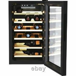 Candy CWC021ELSPK DiVino Free Standing B Wine Cooler Fits 21 Bottles Black New