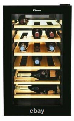 Candy CWC021ELSPK Freestanding 18 Bottle Wine Cooler 40cm wide x 69cm tall